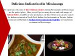 delicious indian food in mississauga