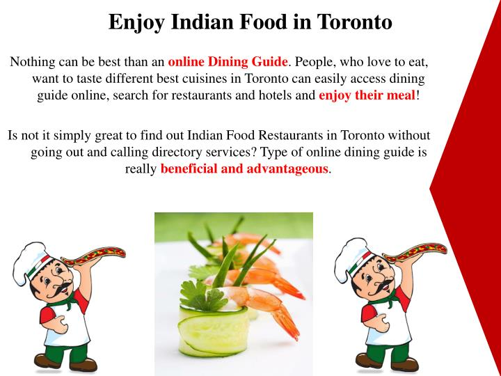 Enjoy Indian Food in Toronto