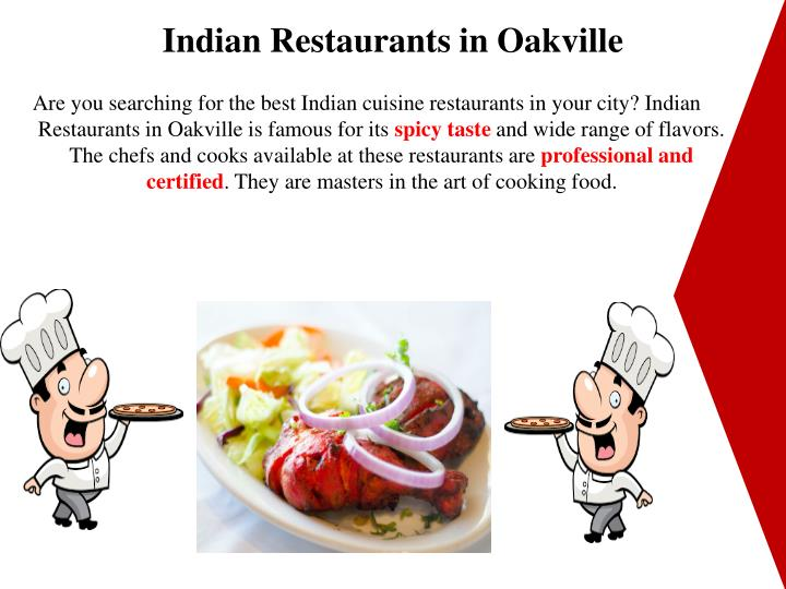 Indian Restaurants in Oakville