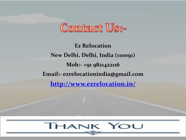 Ez Relocation