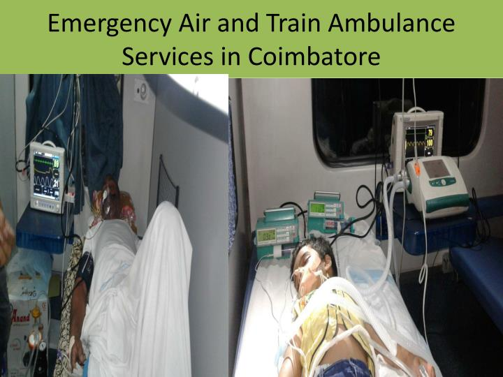 Emergency Air and Train Ambulance Services