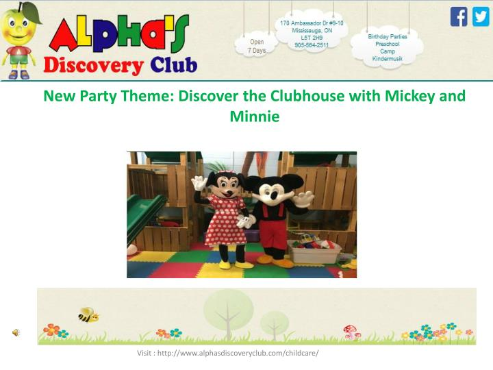 New party theme discover the clubhouse with mickey and minnie2