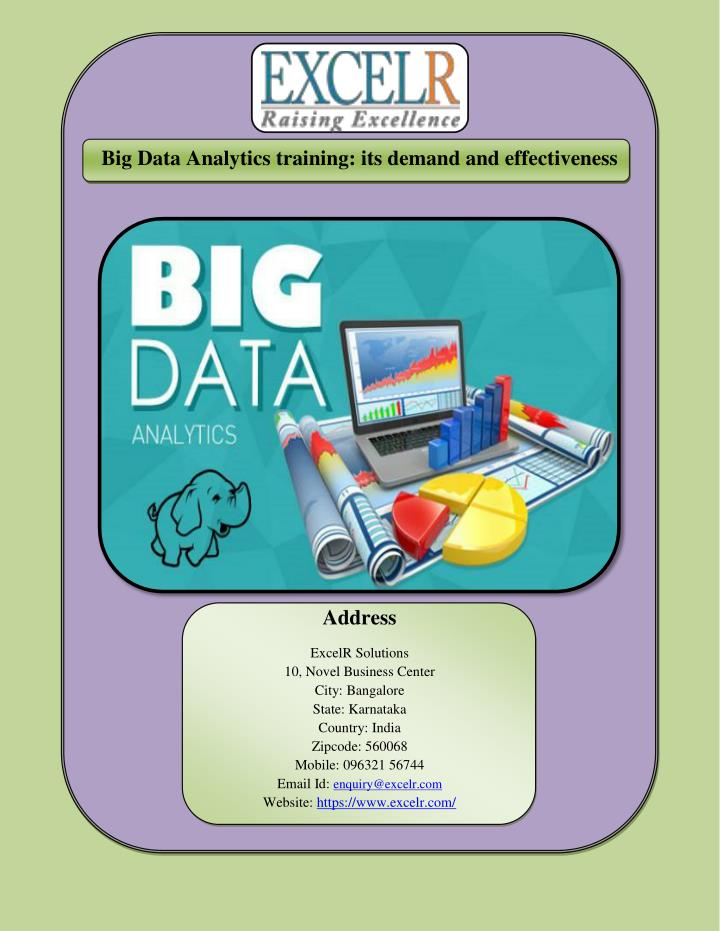 Big Data Analytics training: its demand and effectiveness