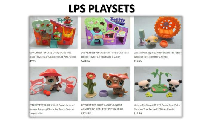 LPS PLAYSETS