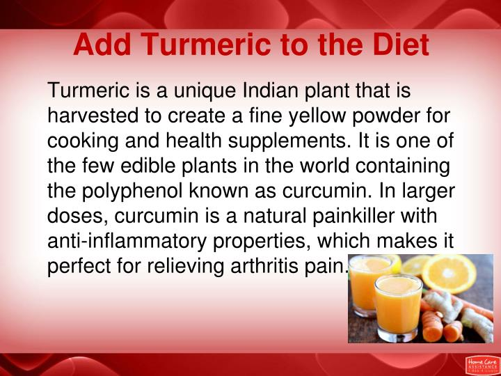 Add Turmeric to the Diet