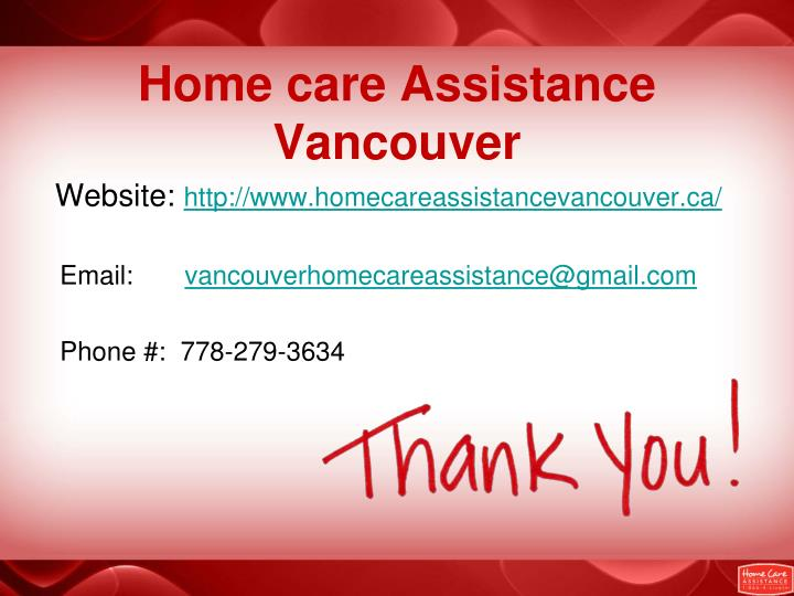 Home care Assistance Vancouver