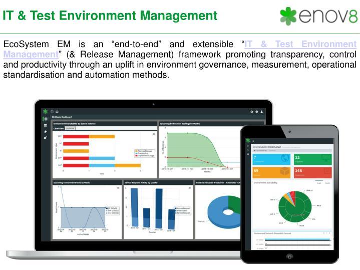 IT & Test Environment Management