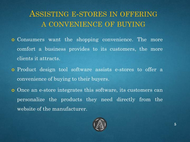 Assisting e-stores in offering