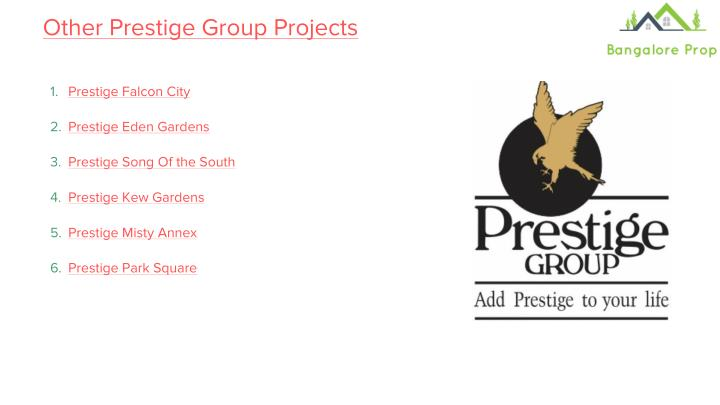 Other Prestige Group Projects