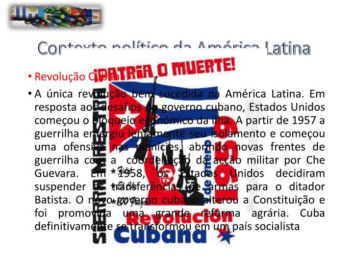 Contexto político da América Latina