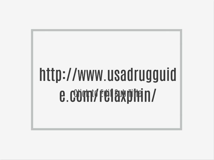 Http://www.usadrugguid