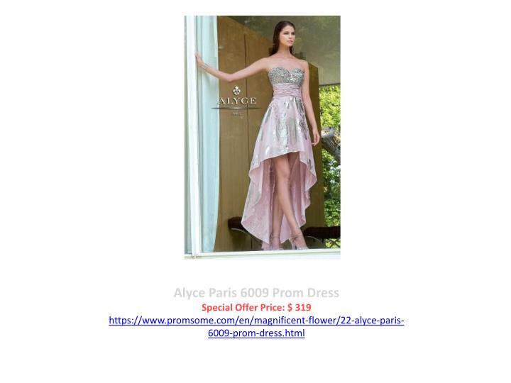 Alyce Paris 6009 Prom Dress