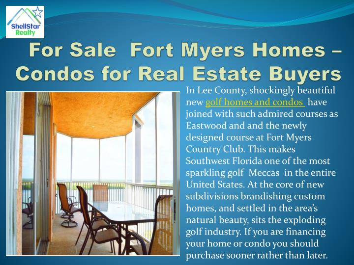 For Sale  Fort Myers Homes – Condos for Real Estate Buyers