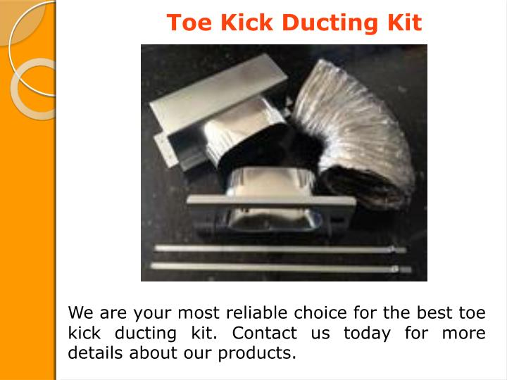 Toe Kick Ducting Kit