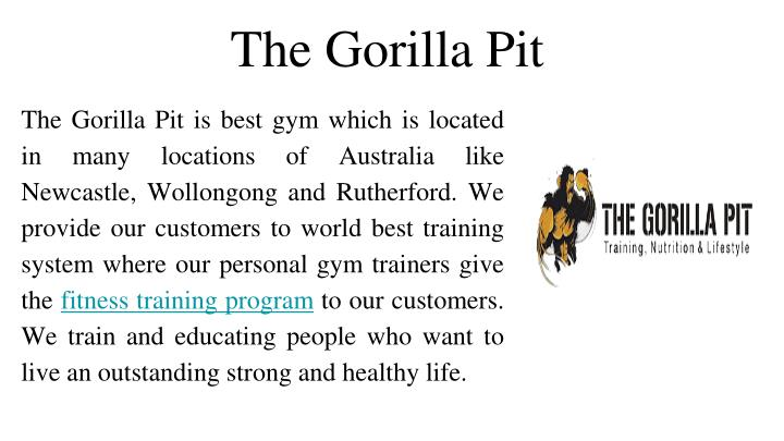 The Gorilla Pit