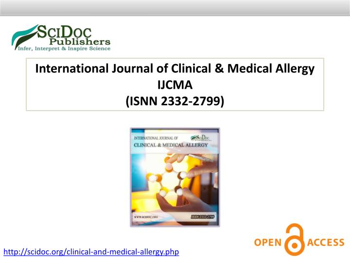 International Journal of Clinical & Medical Allergy