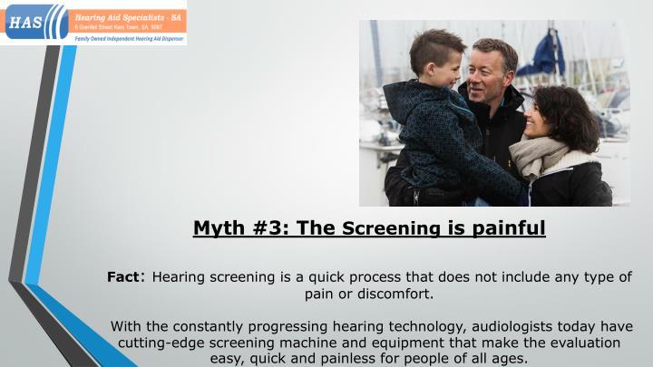 Myth #3: The