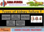 types of kidney failure