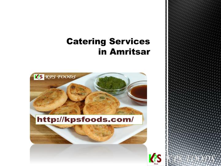 Catering services in amritsar