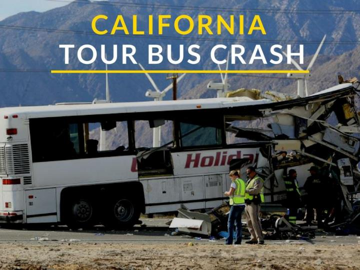 California visit transport crash