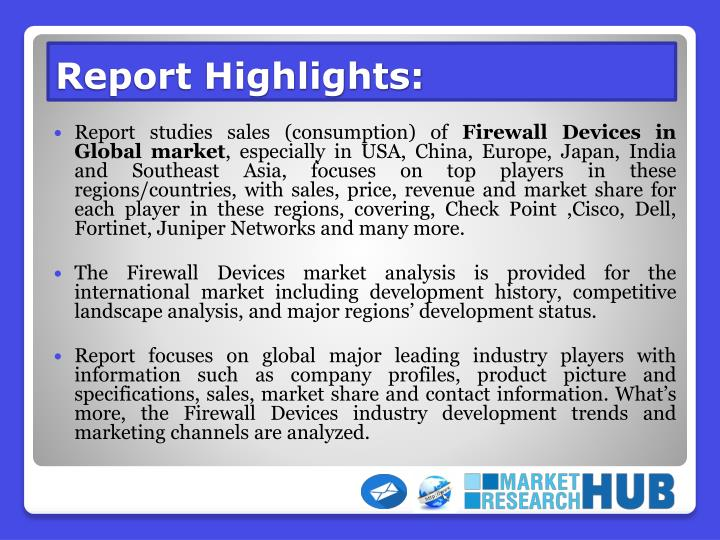 Report highlights