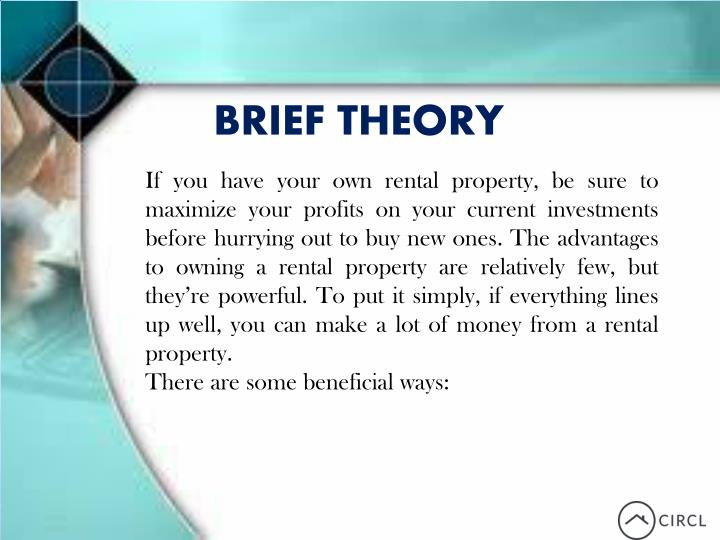 BRIEF THEORY