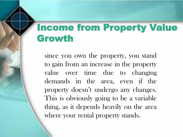 Income from Property Value