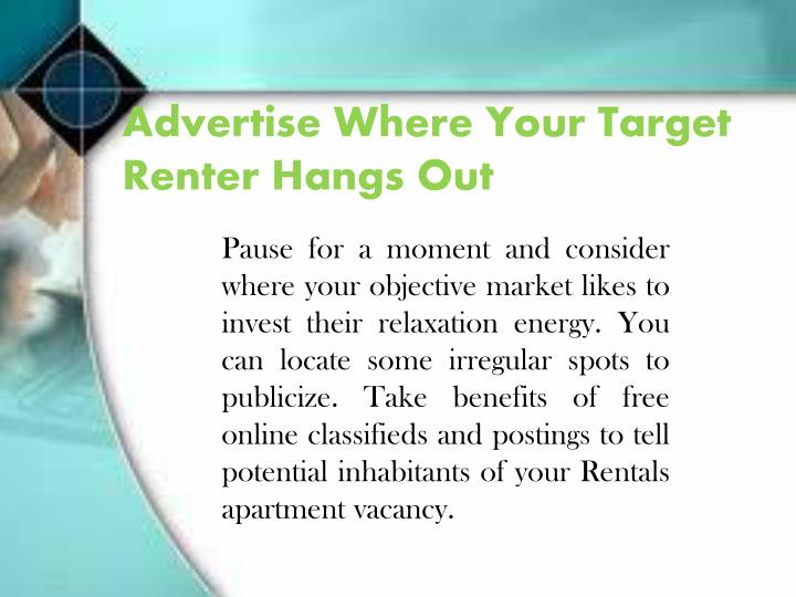 Advertise Where Your Target