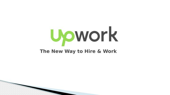 The New Way to Hire & Work