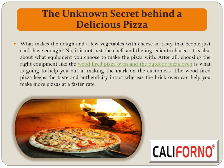 What makes the dough and a few vegetables with cheese so tasty that people just can't have enough? No, it is not just the chefs and the ingredients chosen- it is also about what equipment you choose to make the pizza with. After all, choosing the right equipment like the