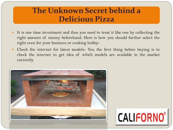 It is one time investment and thus you need to treat it like one by collecting the right amount of money beforehand. Here is how you should further select the right oven for your business or cooking hobby-