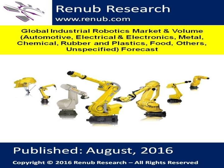 Global industrial robotics market forecast