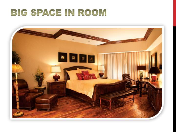 Big Space in Room