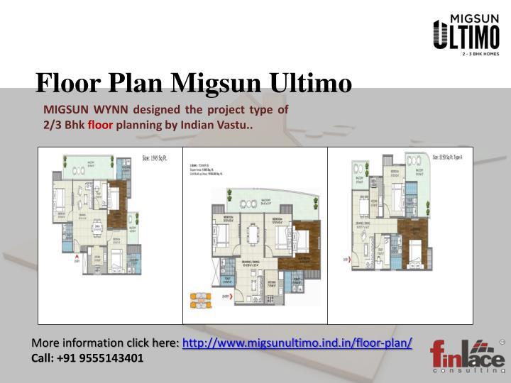 Floor Plan Migsun Ultimo