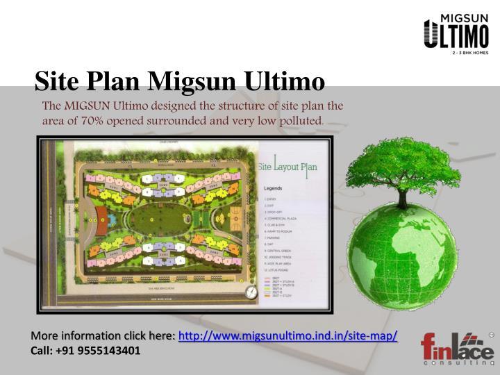 Site Plan Migsun Ultimo