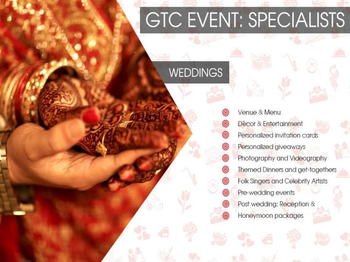 Gtcevents company portfolio and previous work