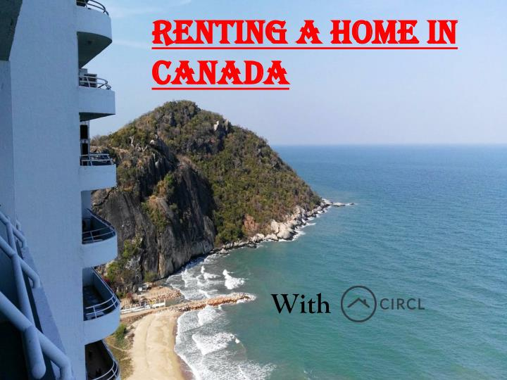 Renting a home in Canada