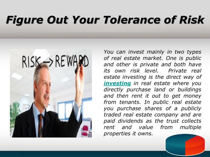 Figure Out Your Tolerance of Risk