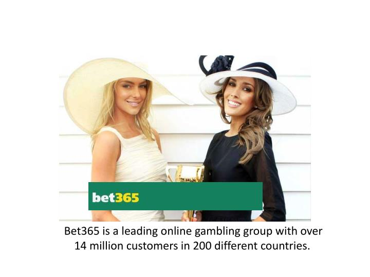 Bet365 is a leading online gambling group with over