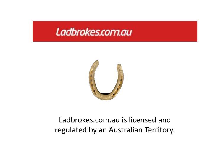 Ladbrokes.com.au is licensed and