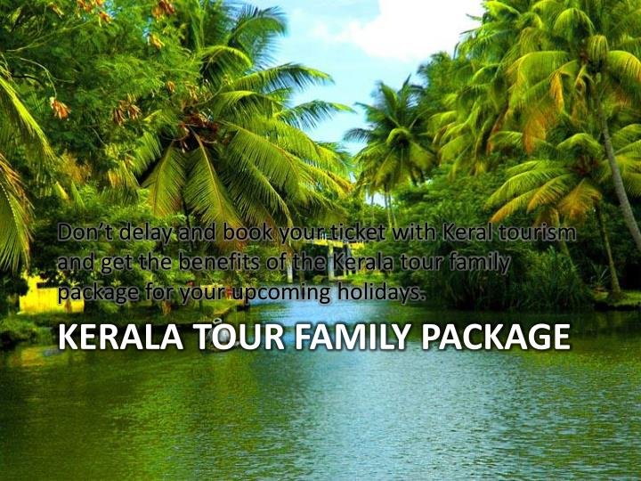 Kerala tour family package