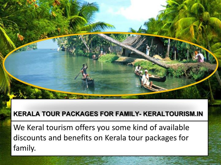 KERALA TOUR PACKAGES FOR FAMILY-