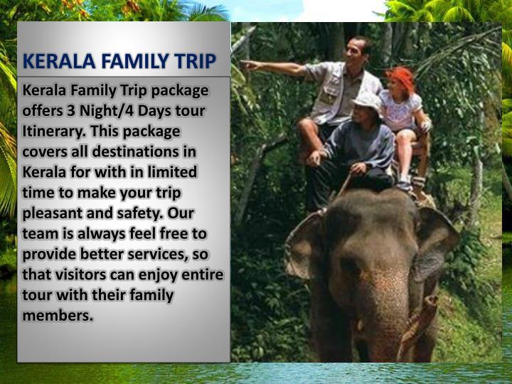 KERALA FAMILY TRIP