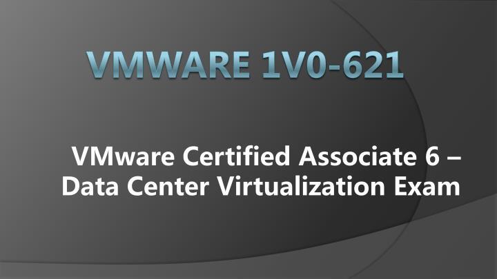 VMware Certified Associate 6