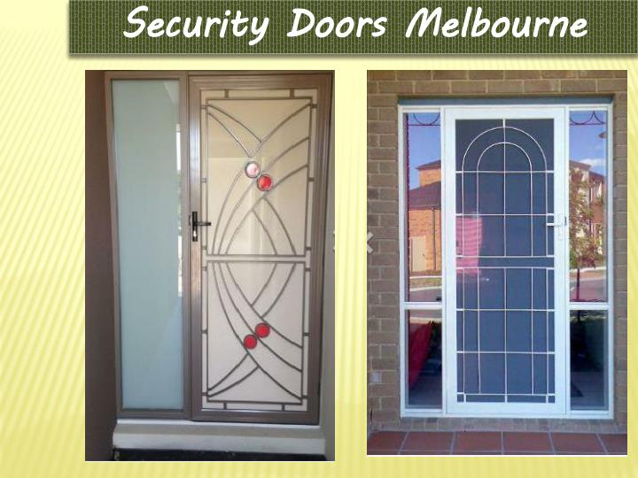 Security Doors Melbourne
