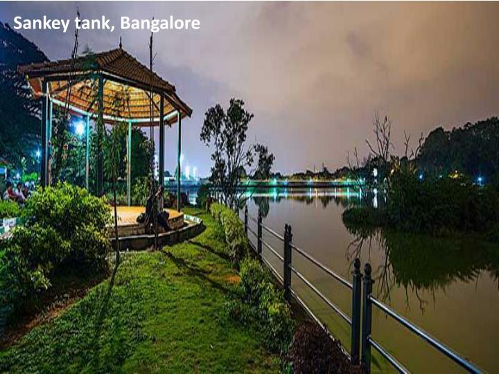 Sankey tank, Bangalore