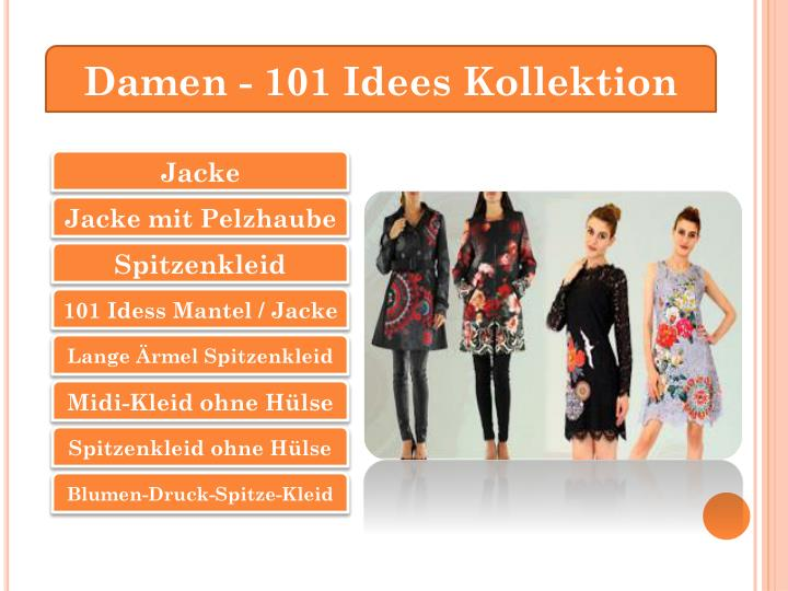 Damen - 101 Idees Kollektion