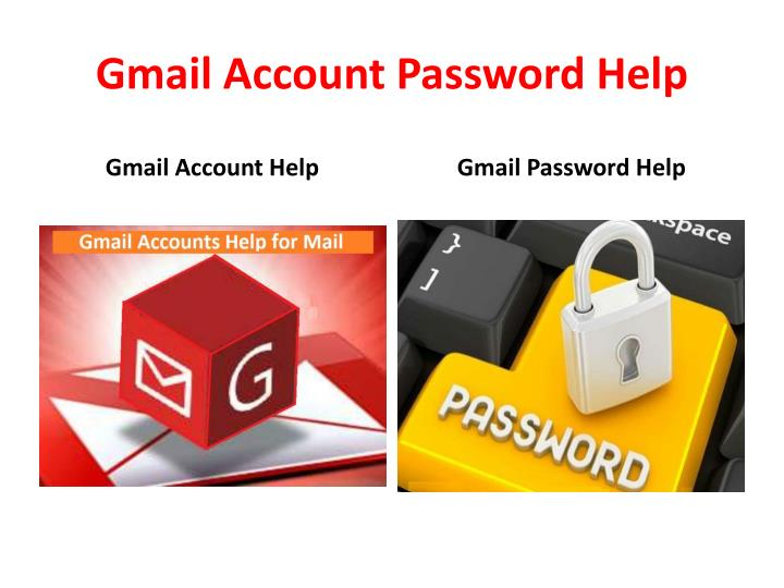 Gmail account password help