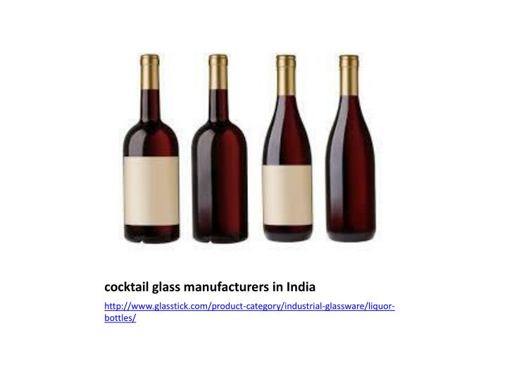 cocktail glass manufacturers in India