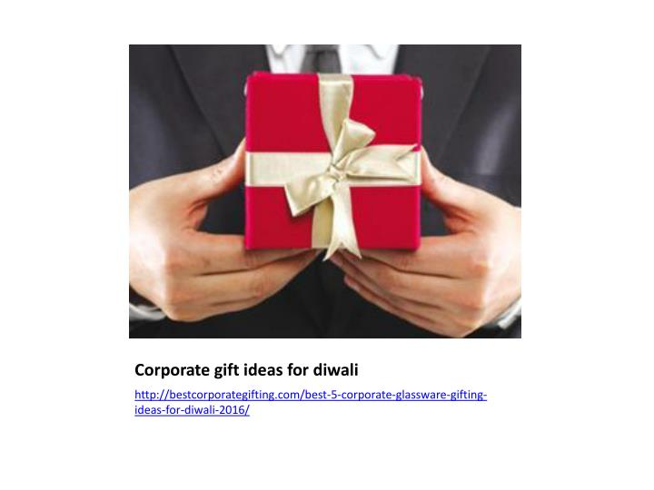 Corporate gift ideas for